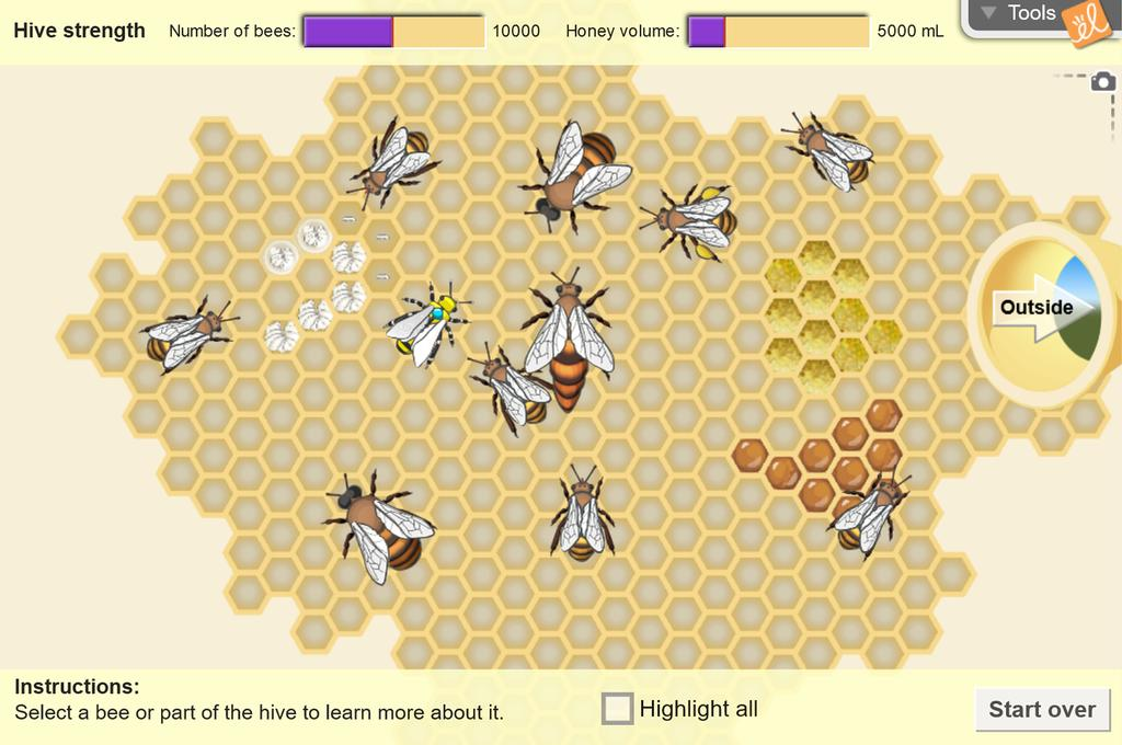 Screenshot of Honeybee Hive Gizmo