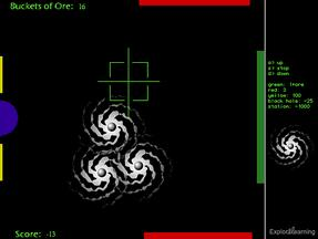 Screenshot of Black Hole Gizmo