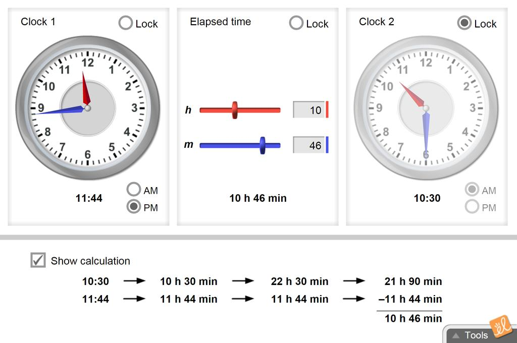 Screenshot of Elapsed Time Gizmo