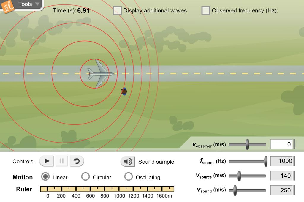 Screenshot of Doppler Shift Advanced Gizmo