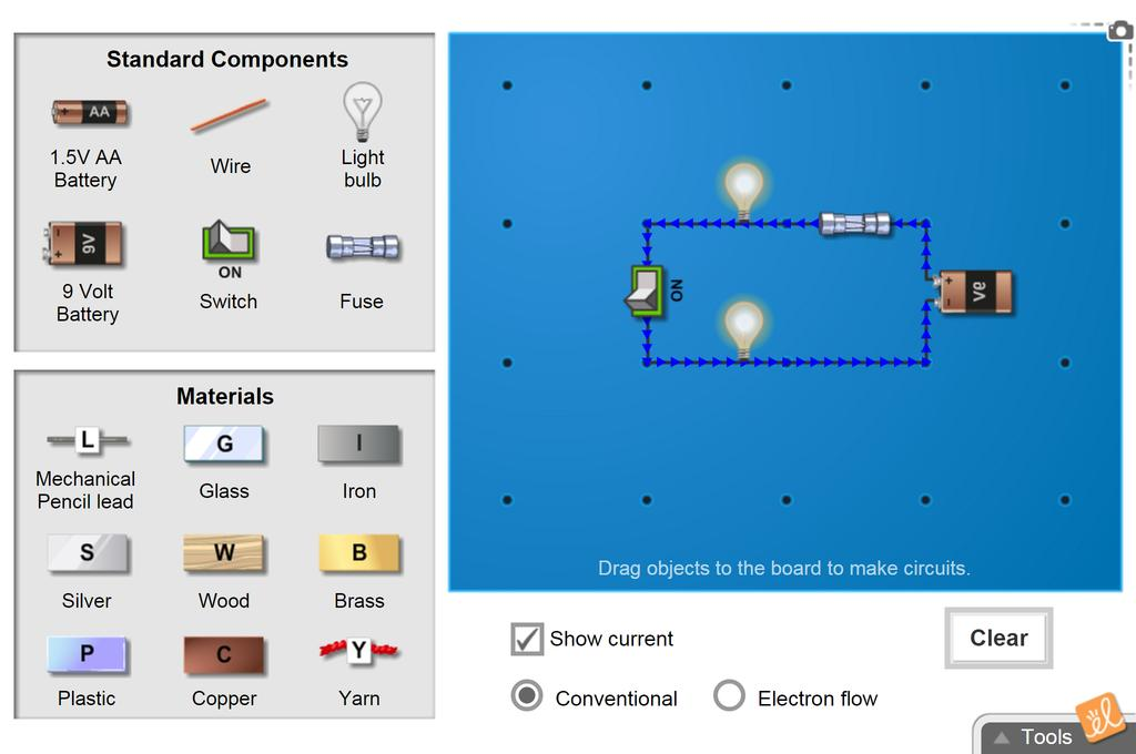 Screenshot of Circuit Builder Gizmo